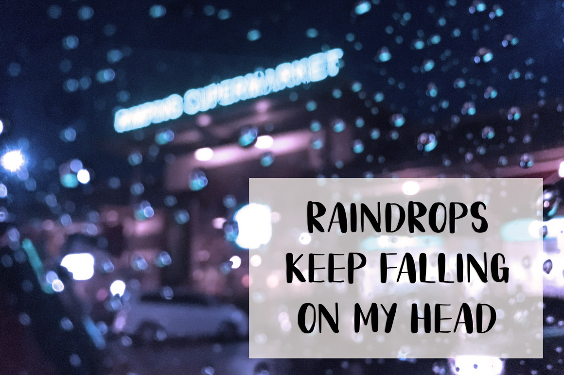 Rainy Day Handwriting Script Font example image 9