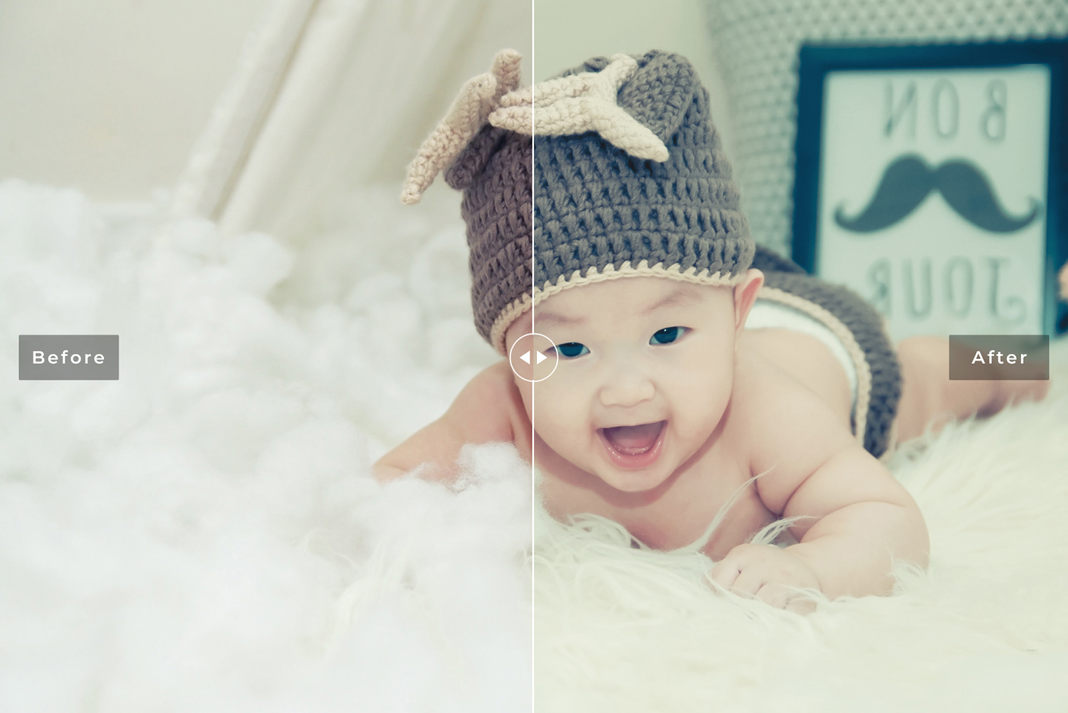 Newborn Photographers Mobile and Desktop Lightroom Presets example image 6