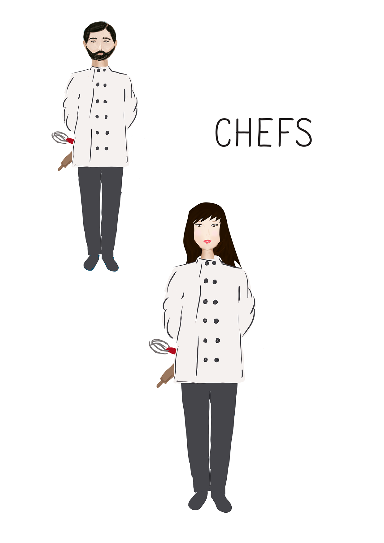Profession's Characters example image 4