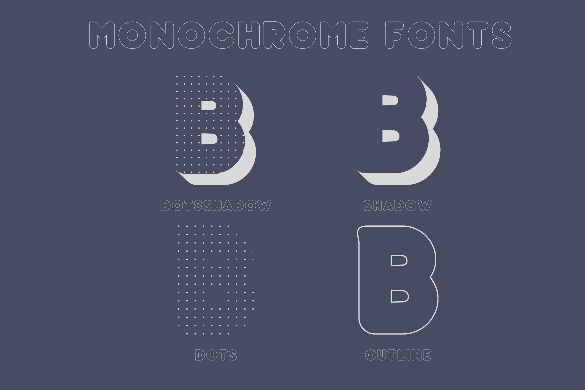Baku - SVG color font example image 3