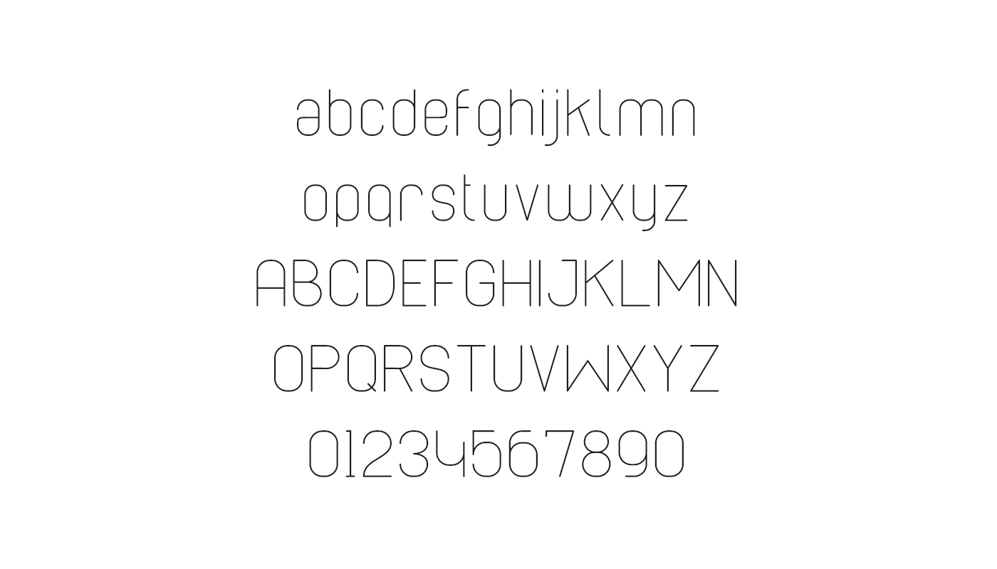 Cabo Rounded Font Family example image 5