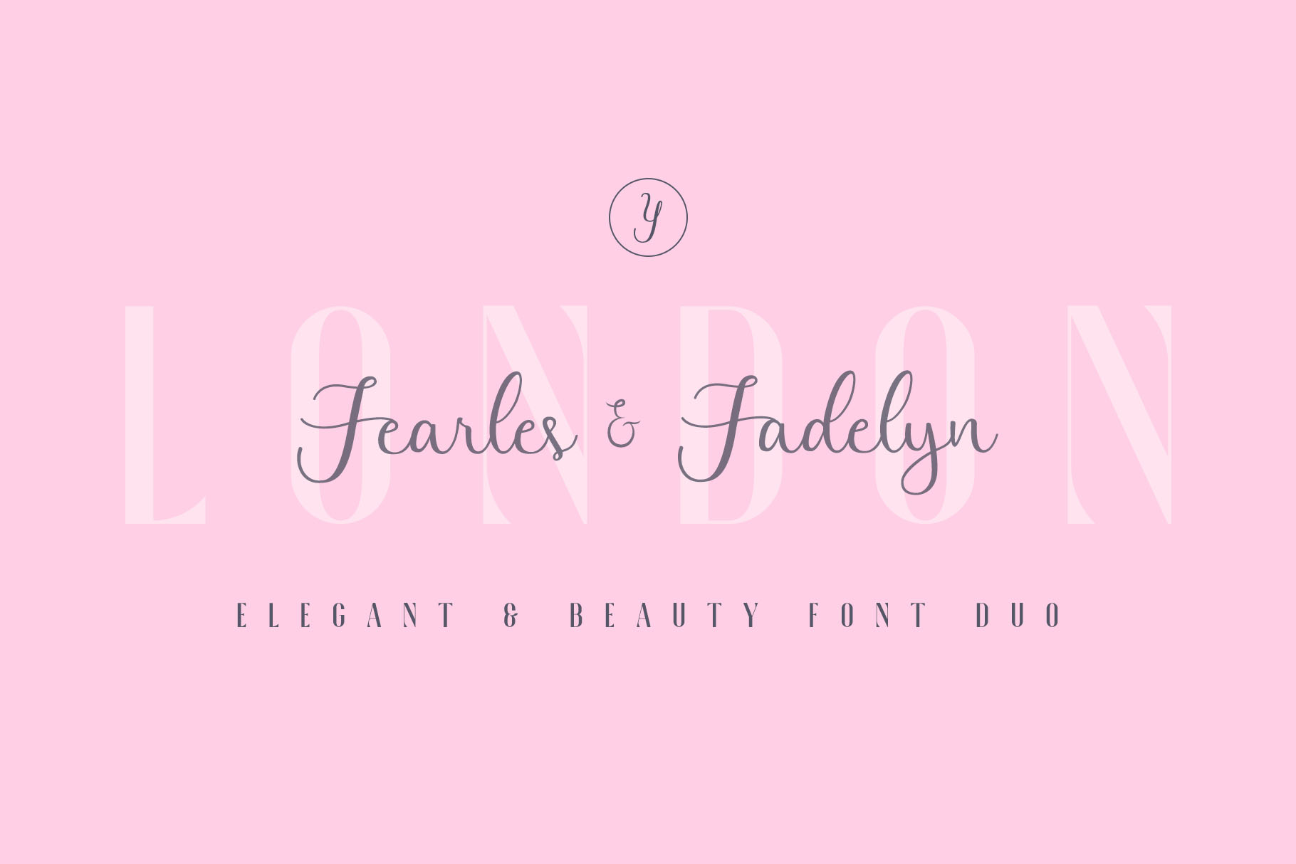 Fadelyn - Font Duo example image 3