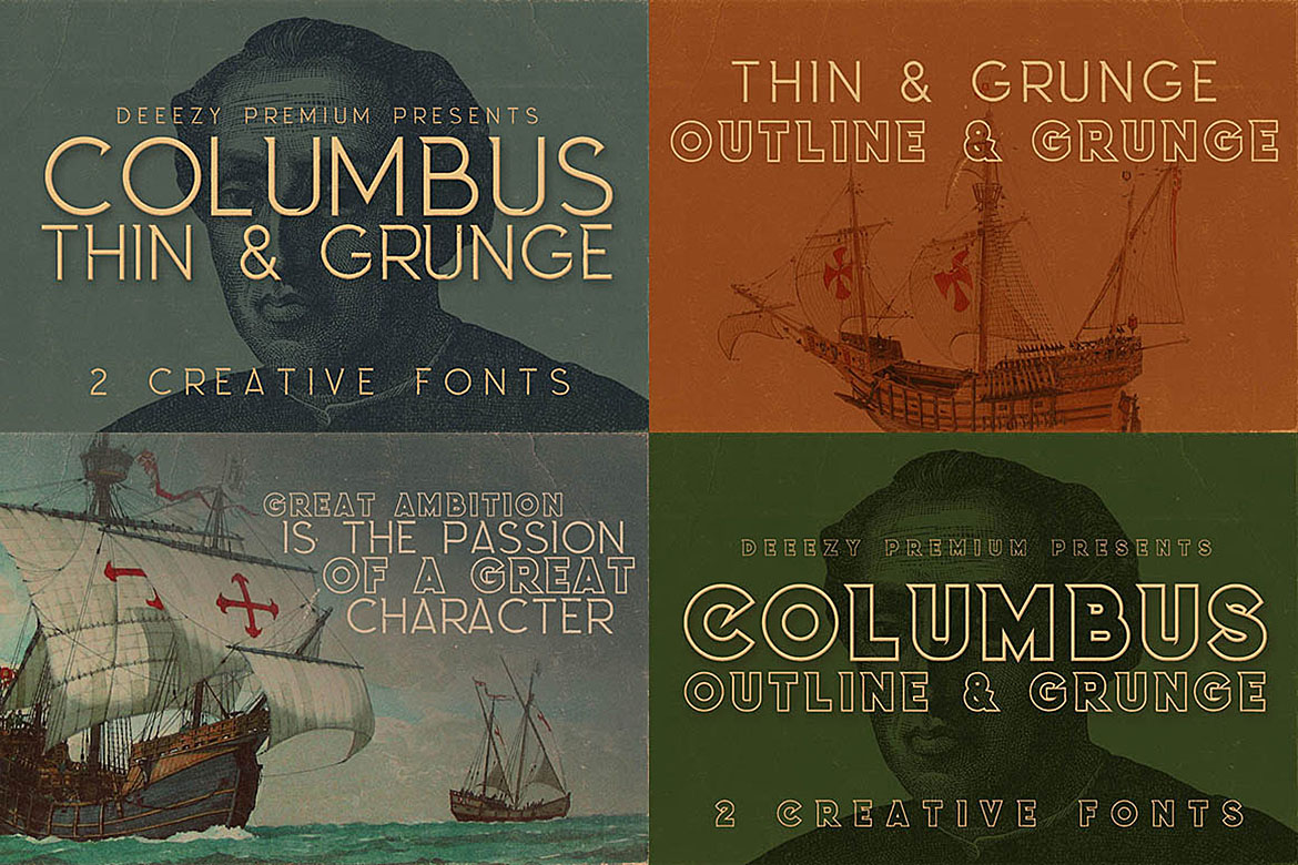 5 Fonts Bundle 1 example image 4