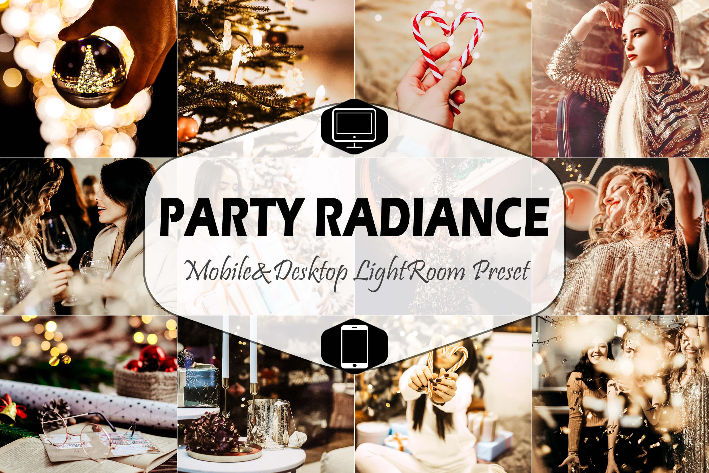 Party Radiance & Desktop Lightroom Presets, nightclub insta example image 1
