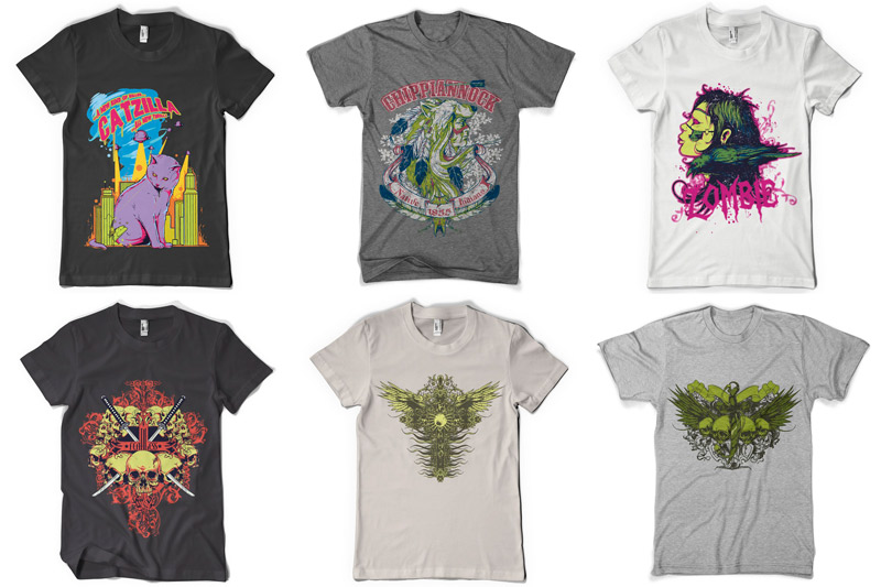 100 T-shirt Designs Vol 4 example image 4