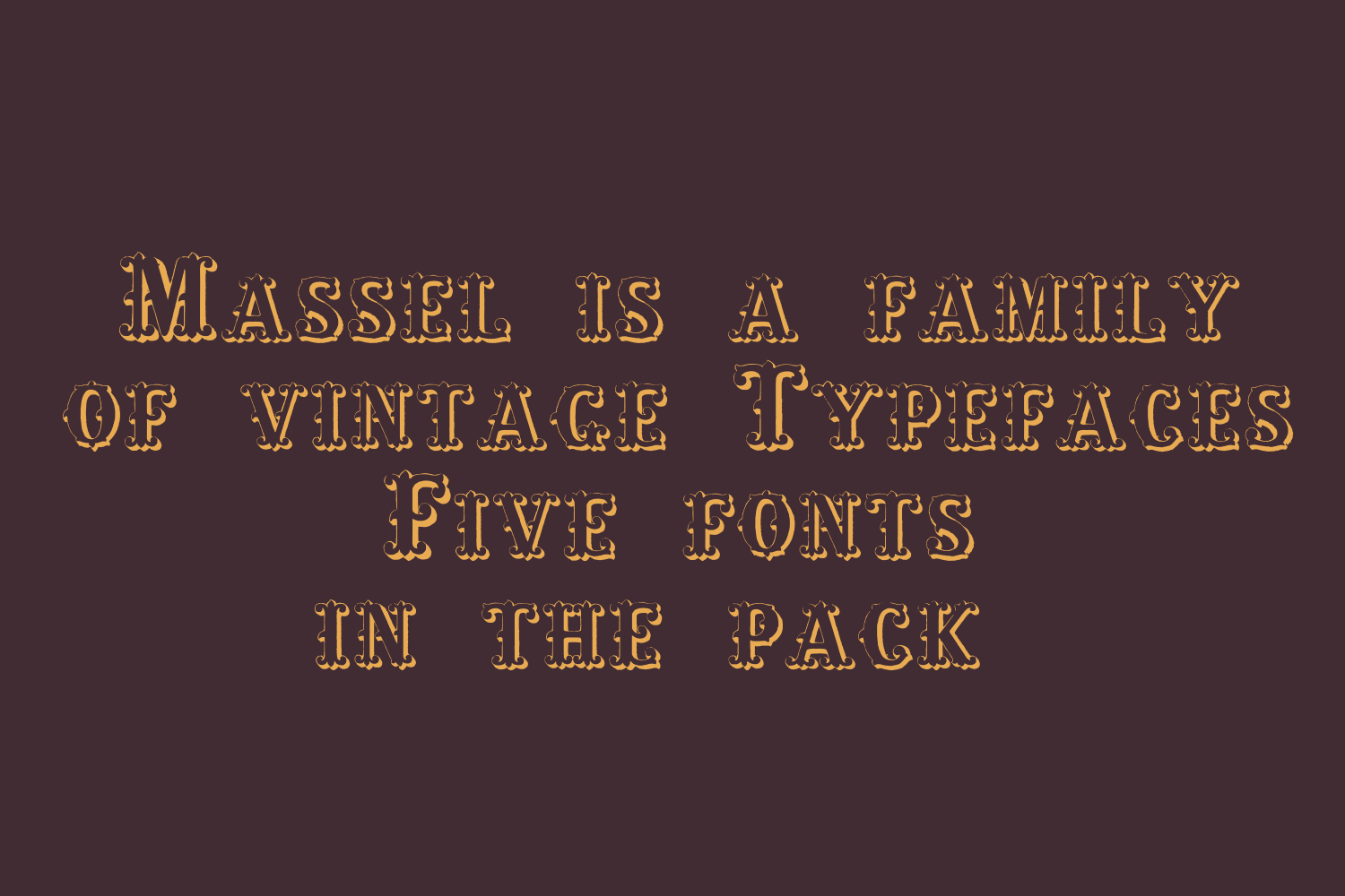 Massel Family PACK example image 3