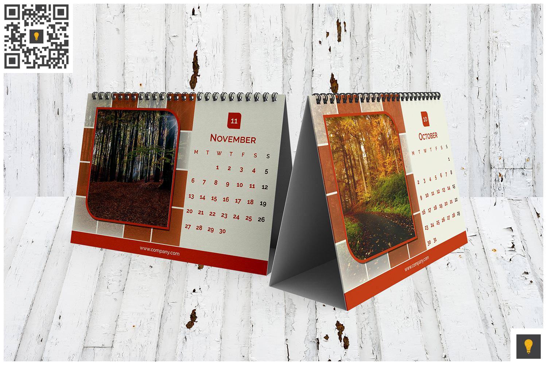 2017 Desktop Calendar example image 9