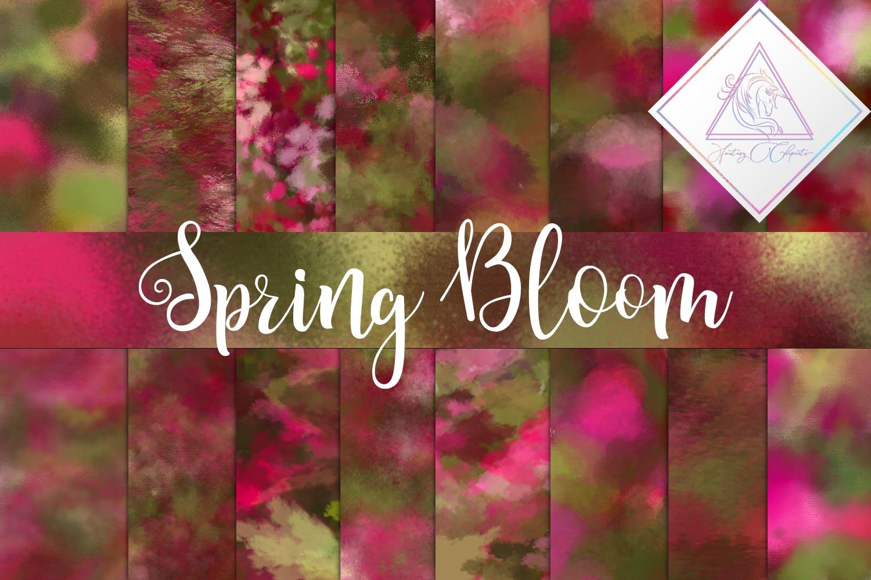 Spring Bloom Digital Paper example image 1