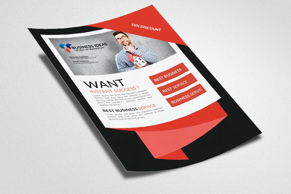 Website Designer Flyer Templates example image 2