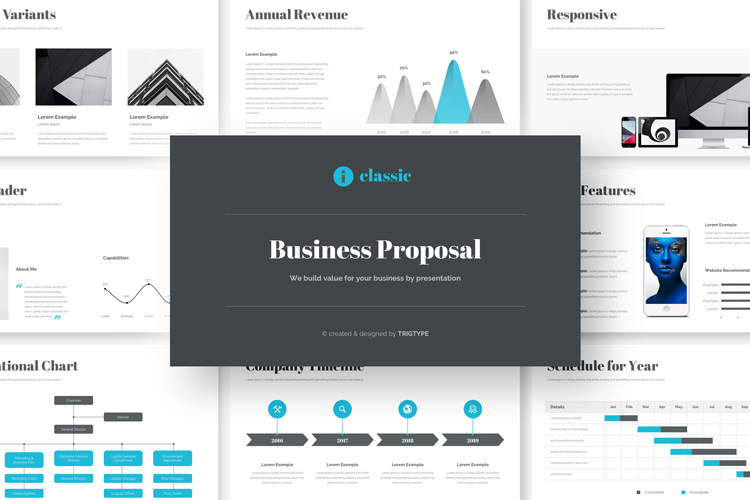 Business Proposal Google Slides Template example image 1