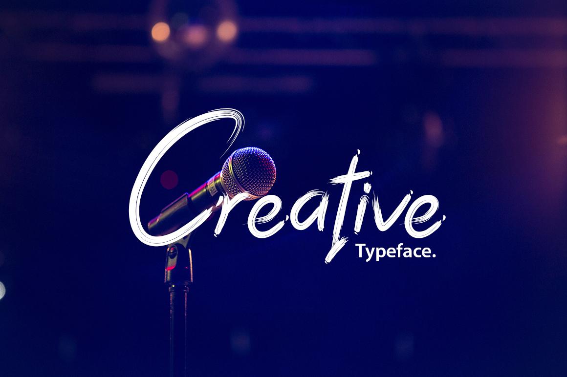 Dark Script Font example image 4