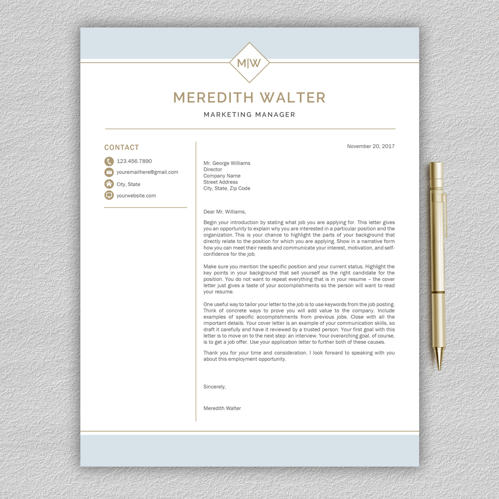 Resume Template / CV Templates, Professional Resume Template example image 5