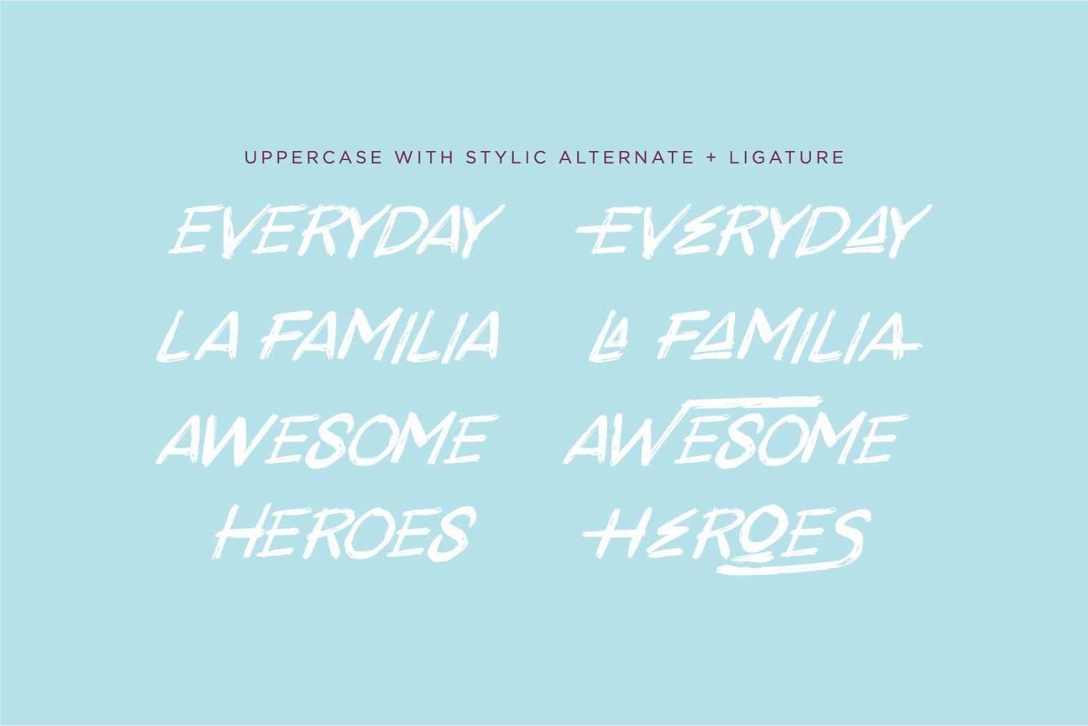 Antreh 2 Font Plus Extra example image 8