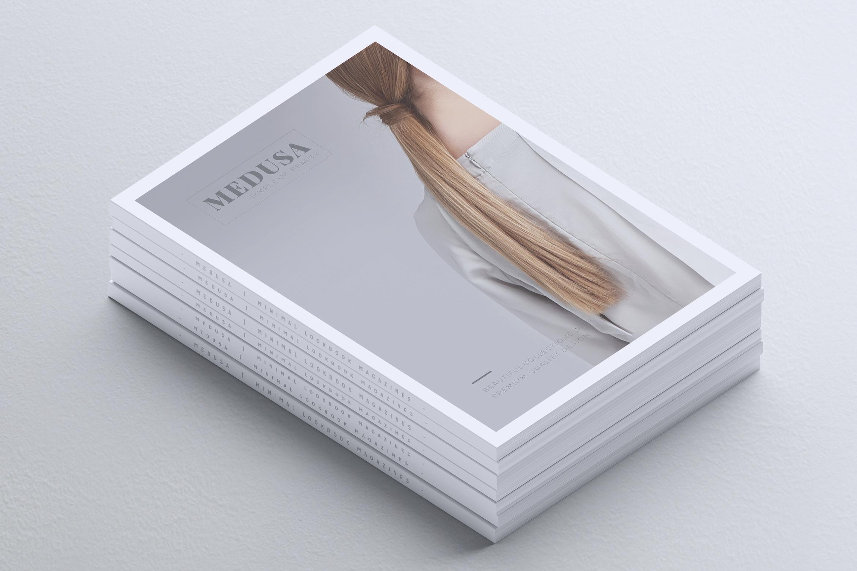 MEDUSA Minimal Lookbook Magazines example image 2