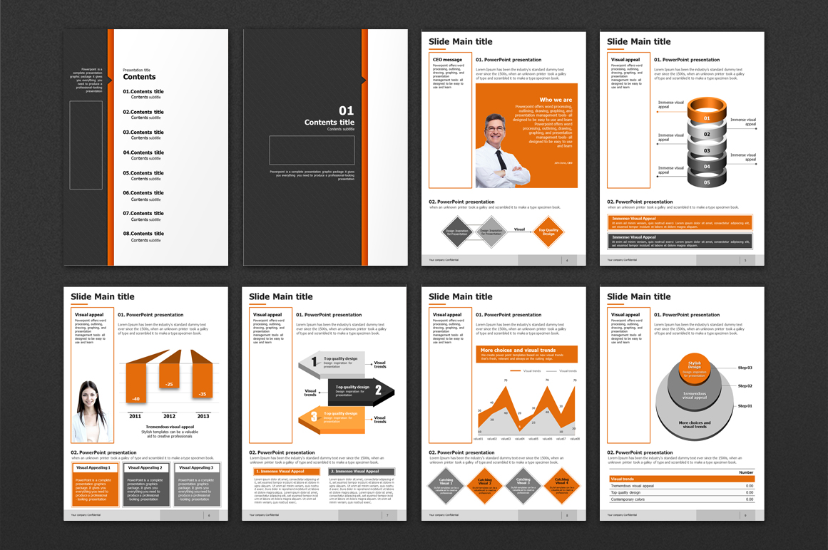 Modern Design Template Vertical example image 2