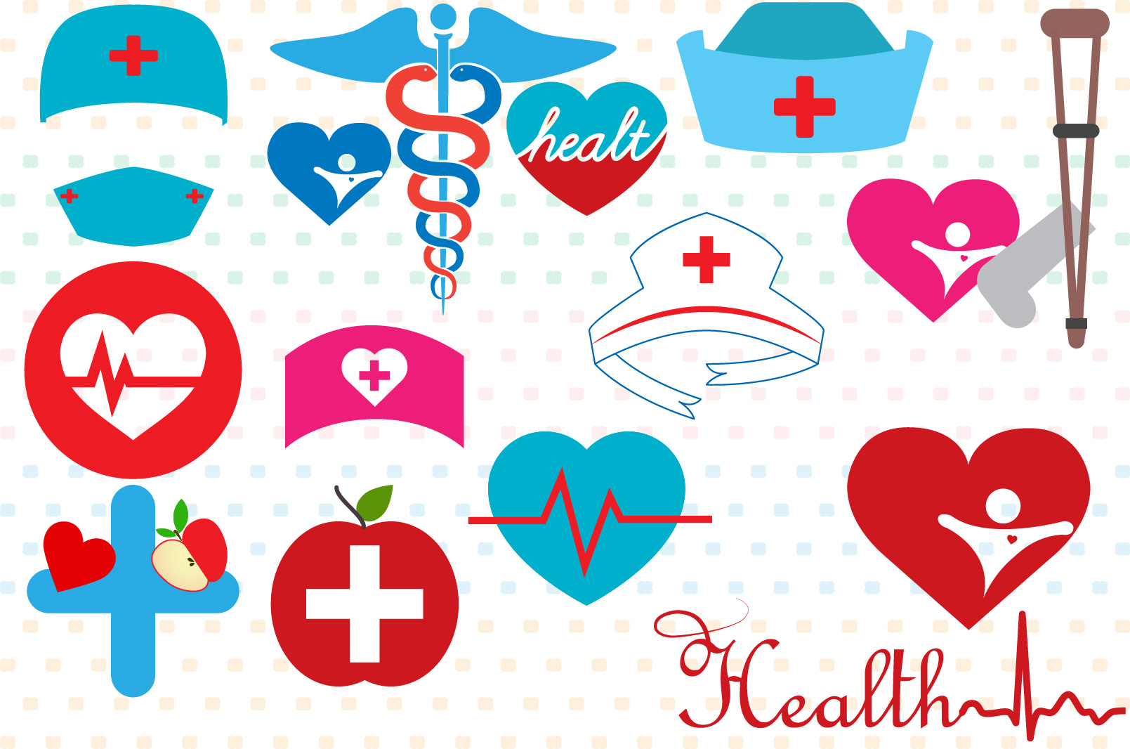 Doctor Medic Props Party Photo Booth SVG 206S example image 2