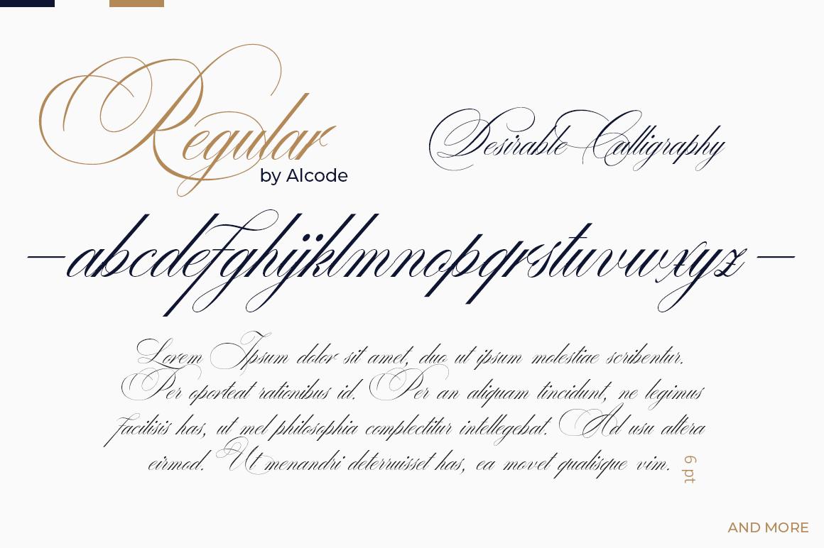 Desirable calligraphy example image 5