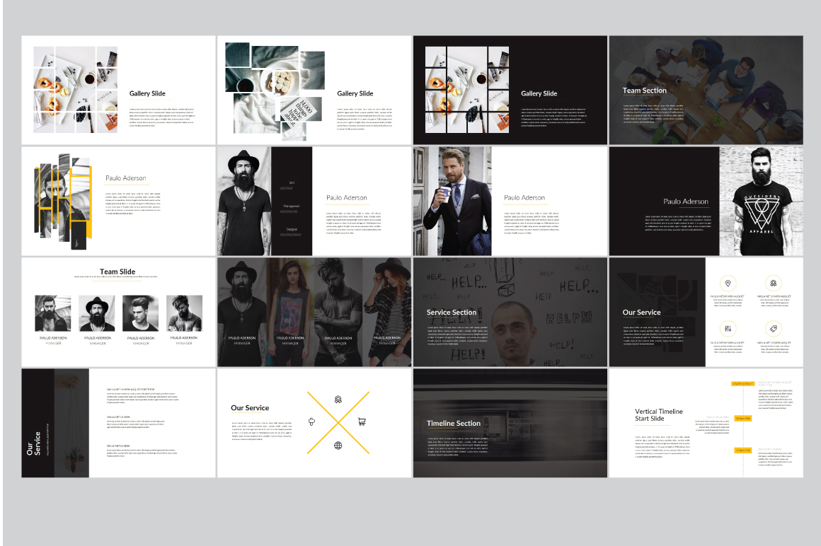 Sparta MNML Keynote Template example image 6