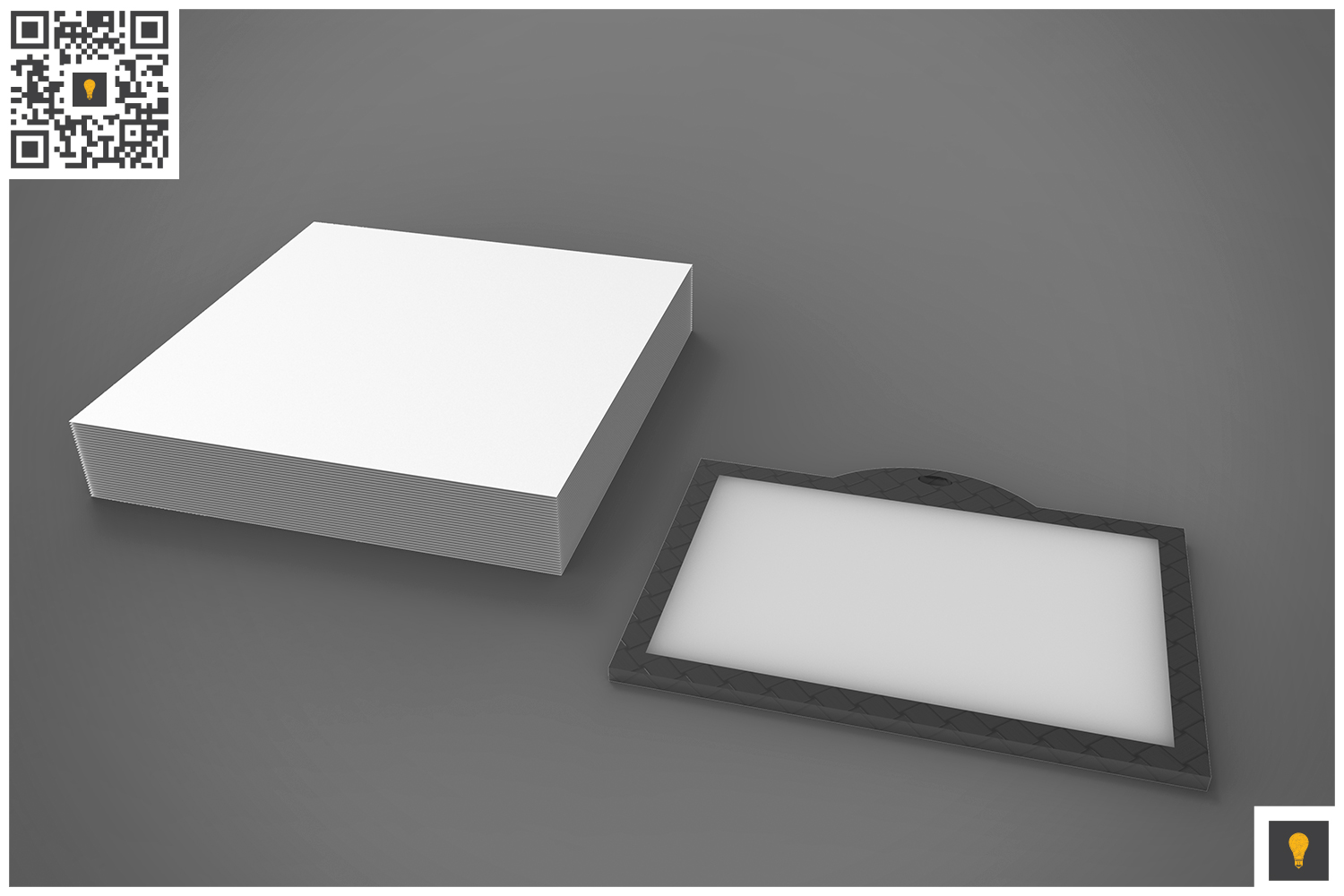 Branding Stationary 3D Render example image 16