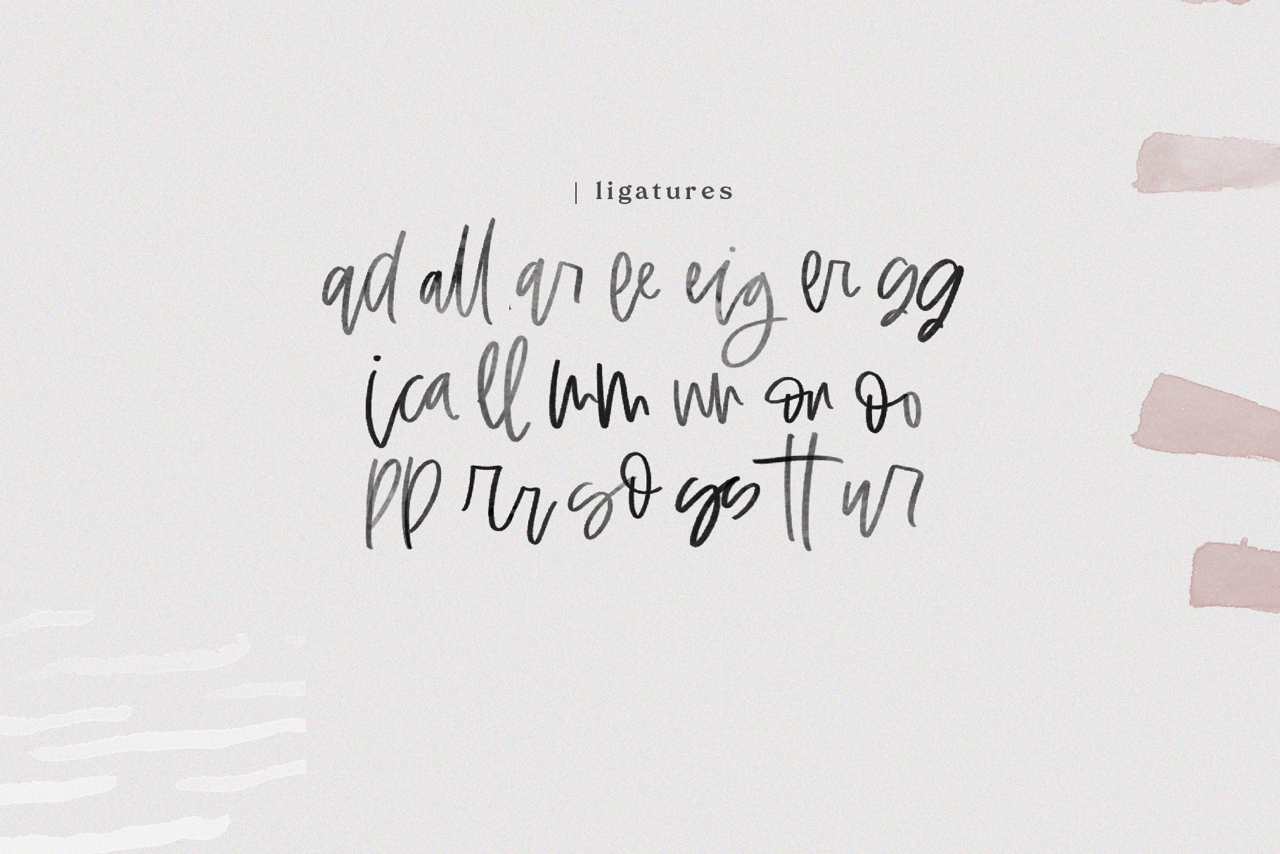Otherway - A Handwritten SVG Script Font example image 16