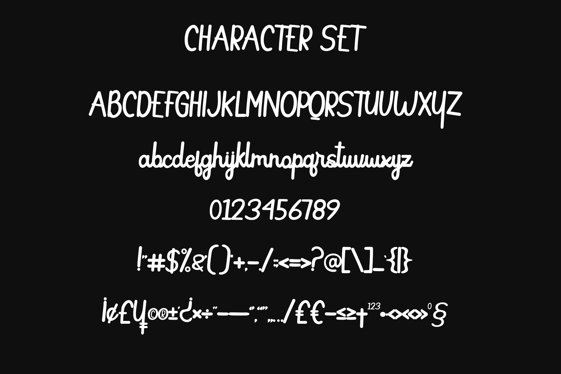 Butterfly Monoline font example image 7
