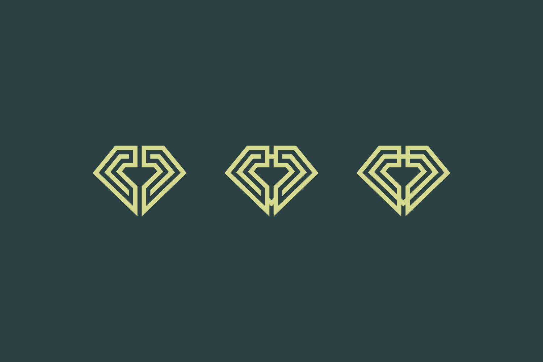 Click Diamond Logo Template example image 3