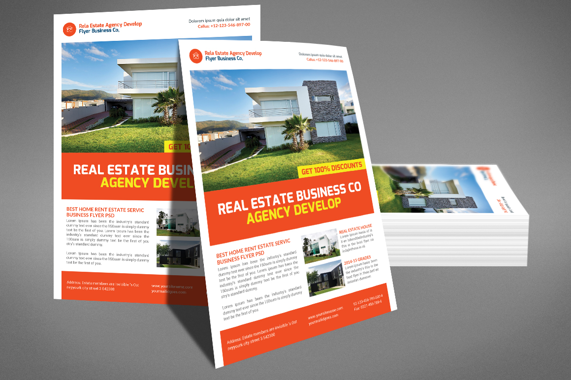 Corporate Business Flyer example image 4