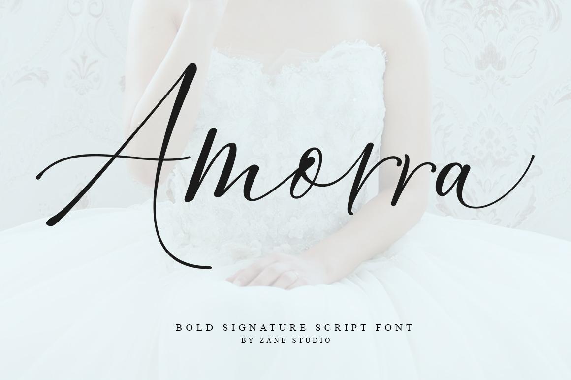 Amorra Script example image 1