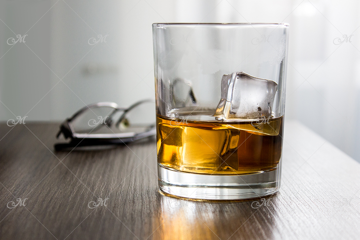 Whiskey Glass Mock-up. PSD+JPG example image 3