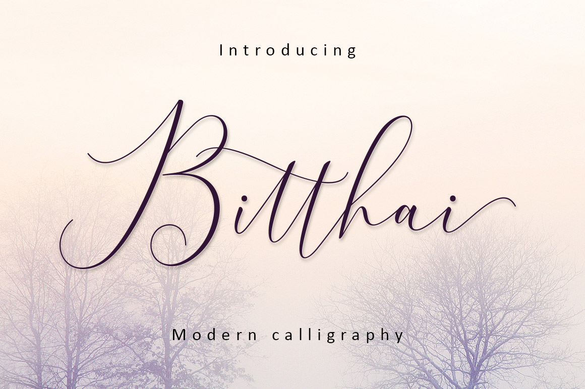 Bitthai Script example image 9