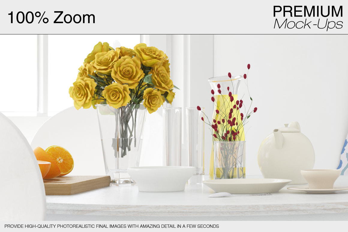 Pillows & Curtains Set - Kitchen example image 19