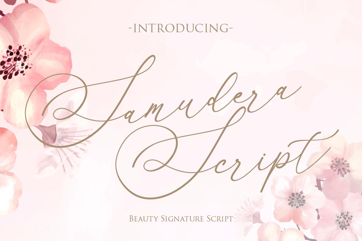 Samudera Script example image 1