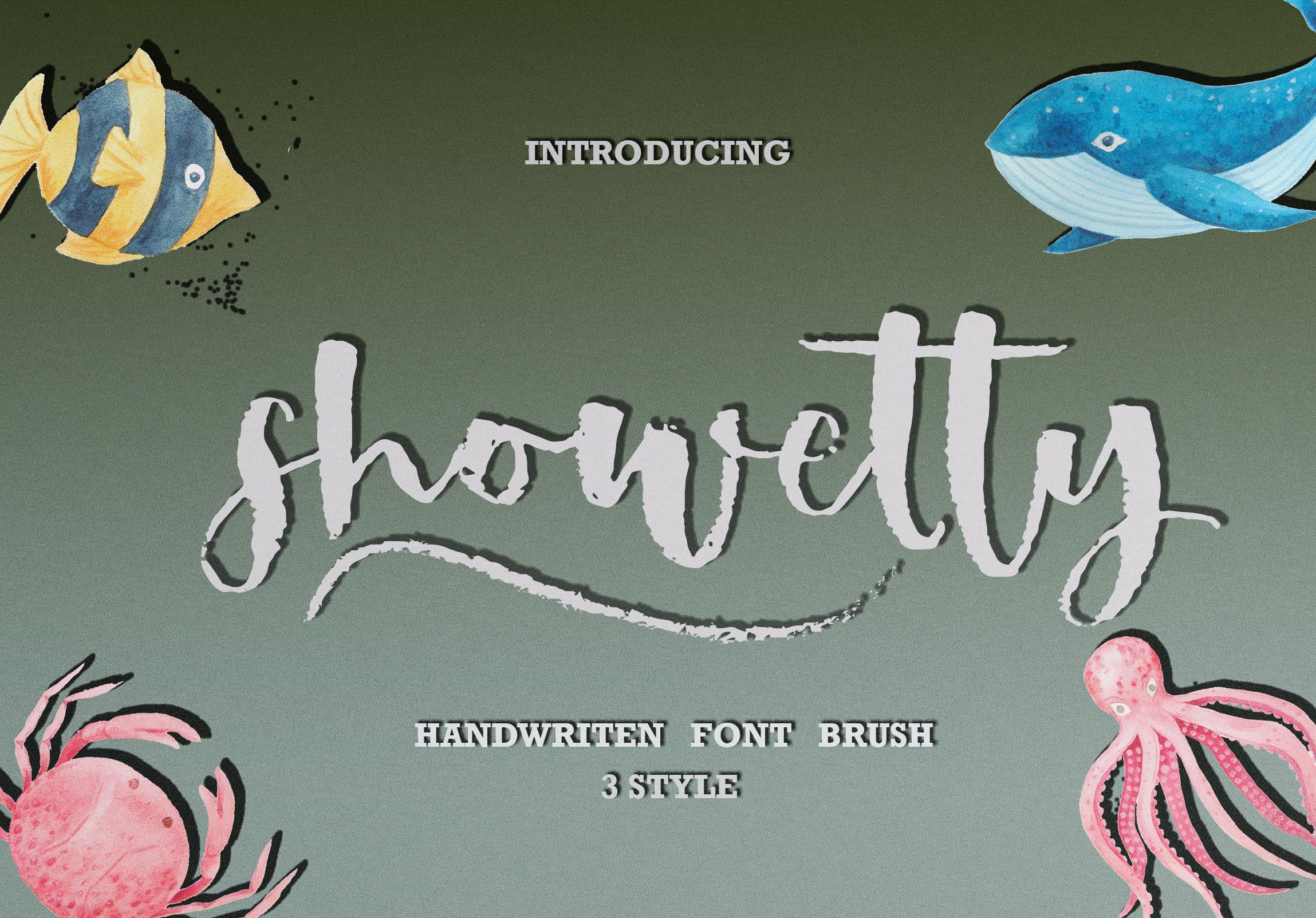 Showetty Brush Script  40 Off  example image 11
