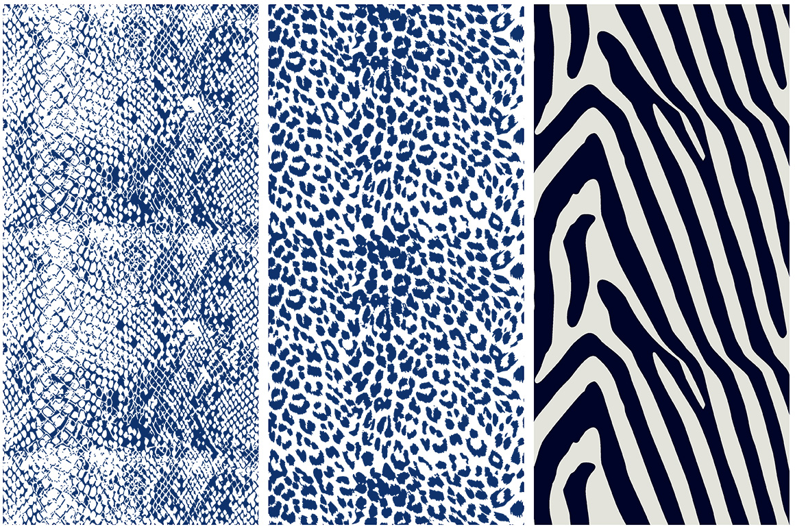 Animal Skin Seamless Patterns example image 3