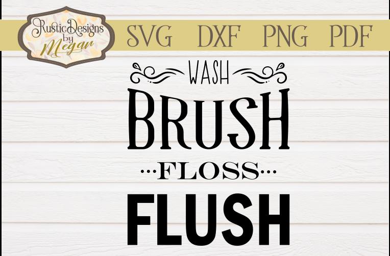 Bathroom Wash SVG cut file example image 1
