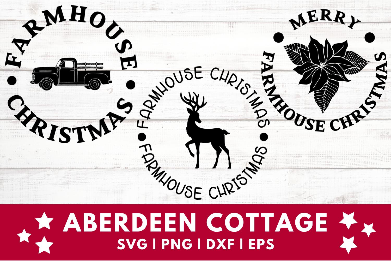 Farmhouse Christmas Kitchen Pot Holders Bundle 2 - SVGs example image 2