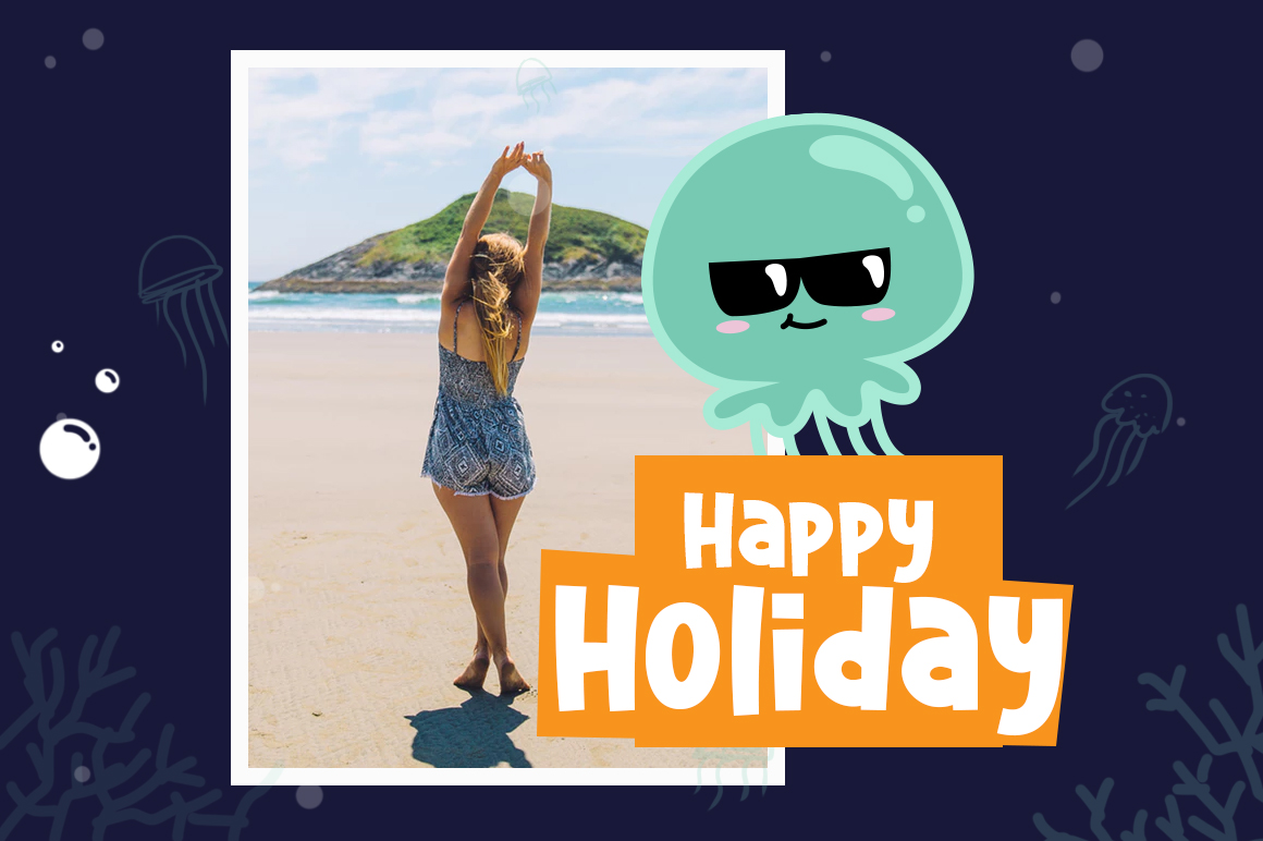 Cute Jellyfish example image 3