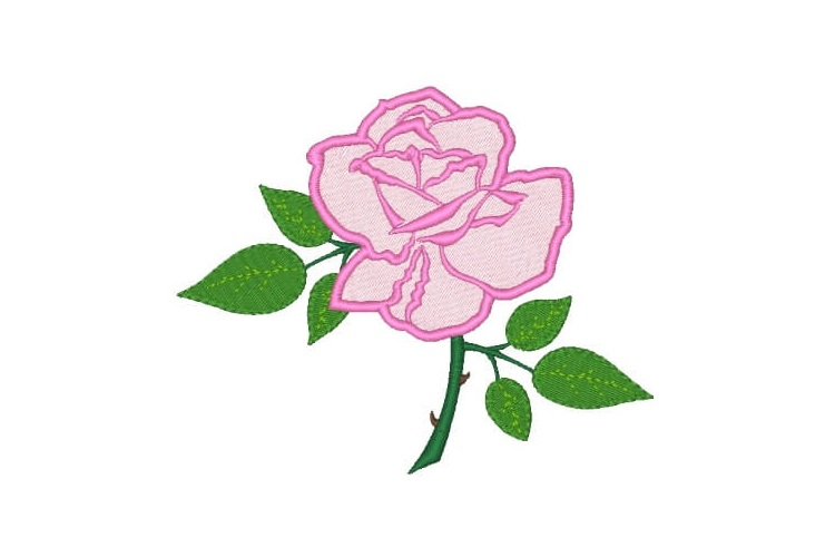 Rose Machine Embroidery Designs Set of 3 example image 3
