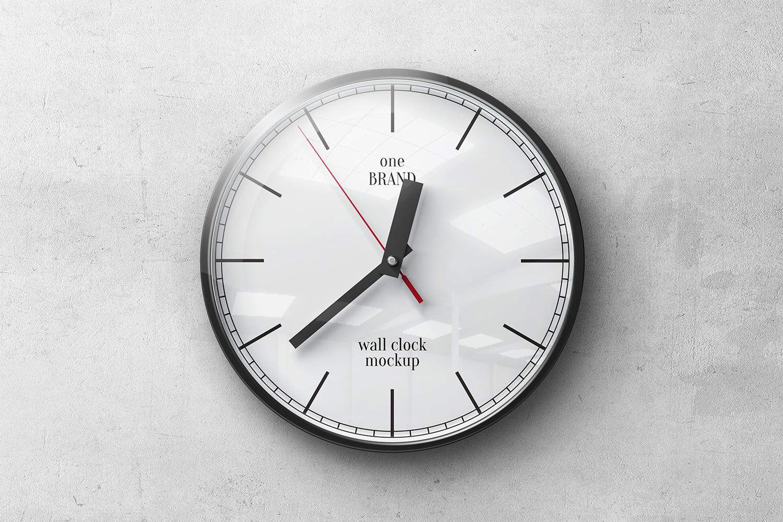 Wall Clock Mockups example image 4
