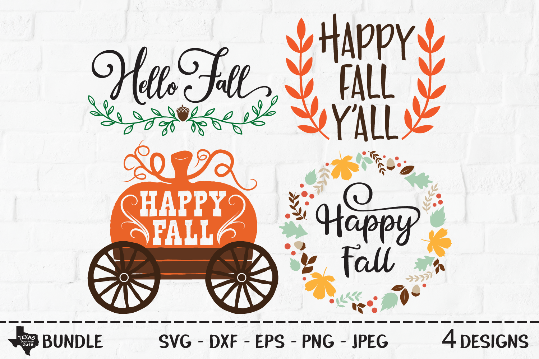 Fall Bundle SVG, Cut Files, Fall Shirt Design, Thanksgiving example image 1