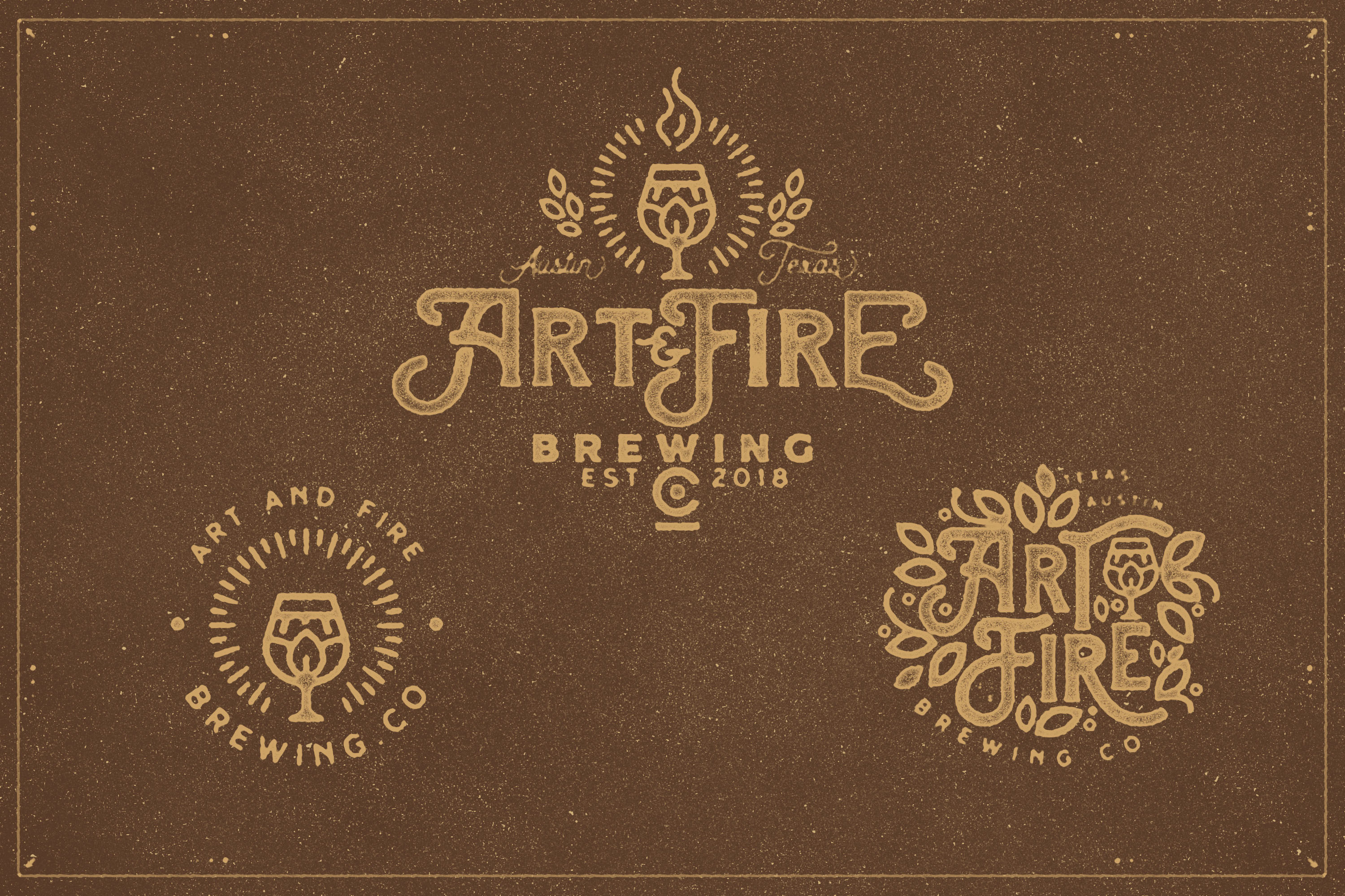 The Brewski - Textured Typeface example image 4