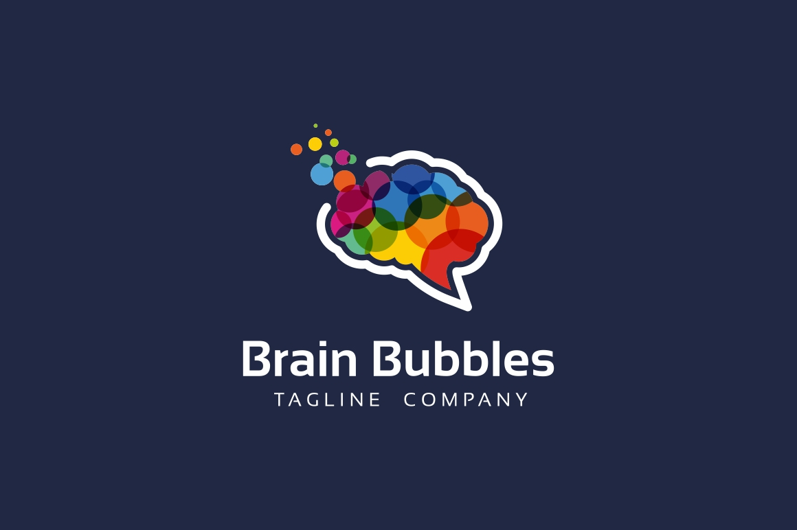 Brain Bubbles Logo example image 2