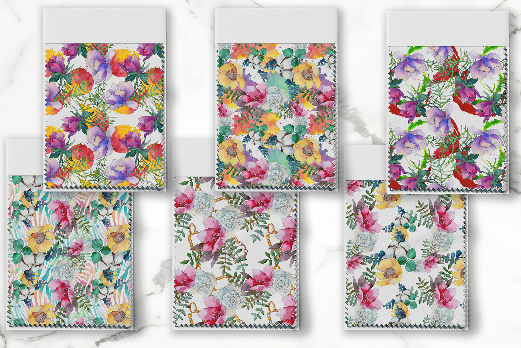Bouquet of flowers Vienna Waltz Watercolor background PNG example image 4