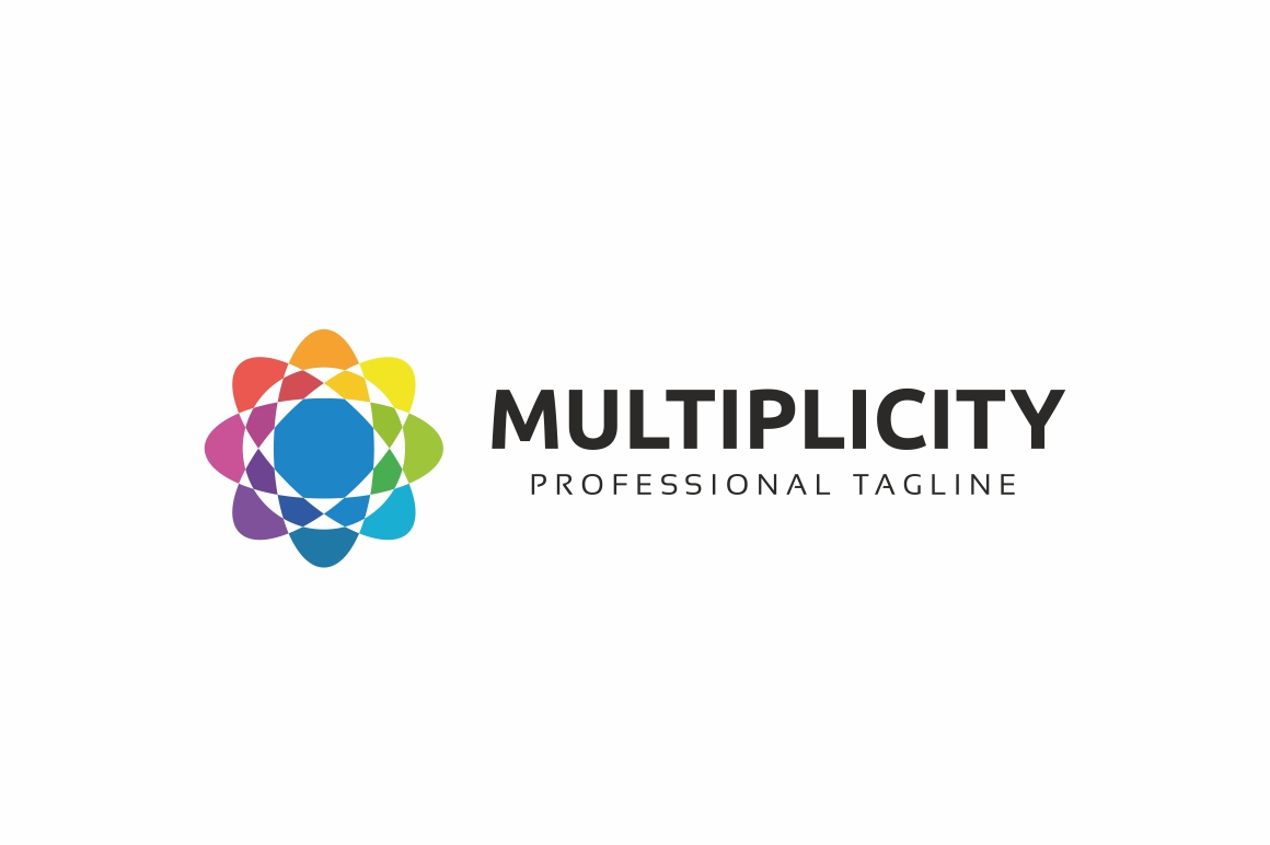 Multiplicity - Abstract Colorful Logo Template example image 3