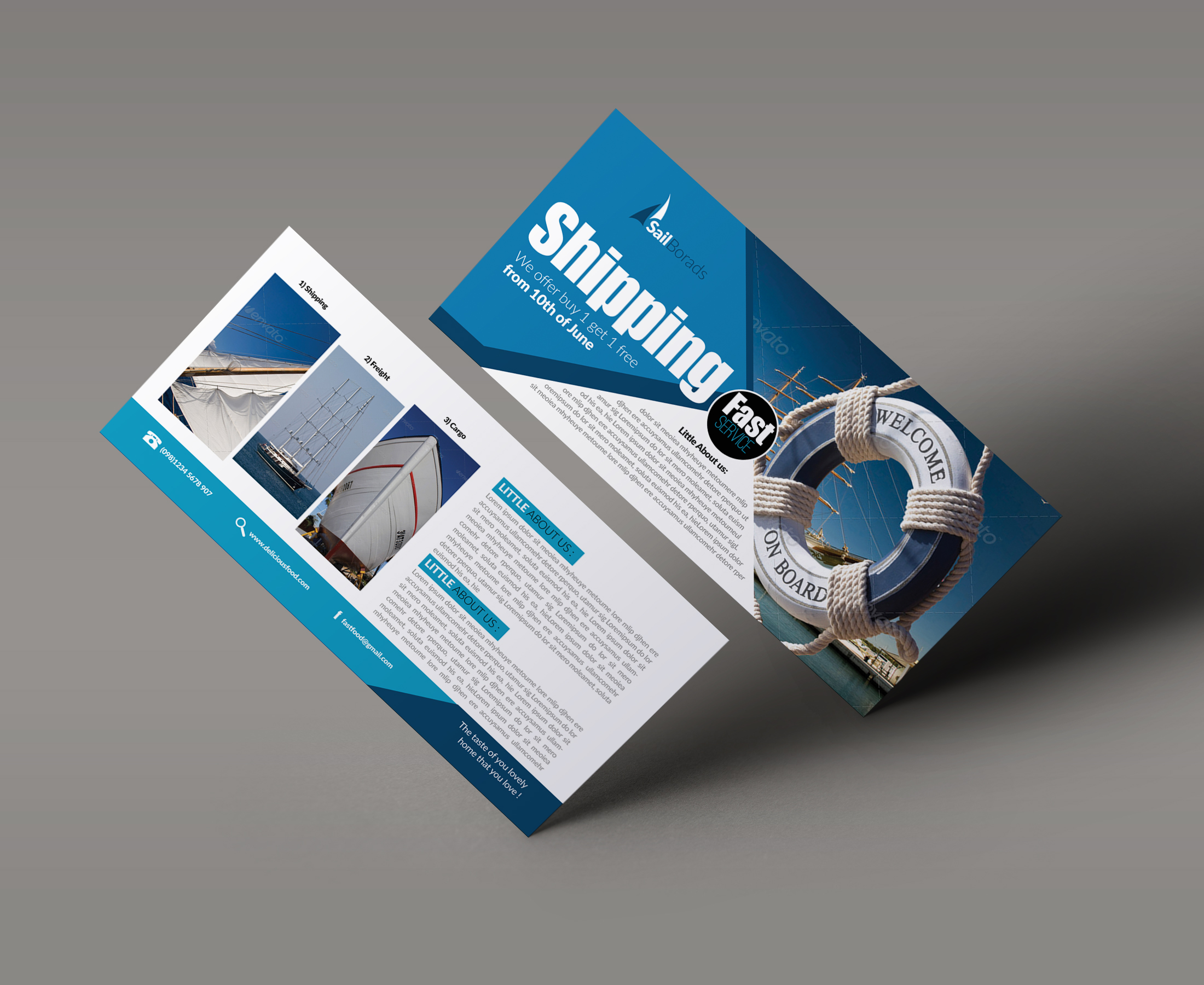 Freight / Shipment Services Gift Vouchers example image 2