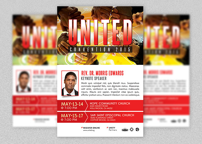 Church Convention Flyer Template example image 1