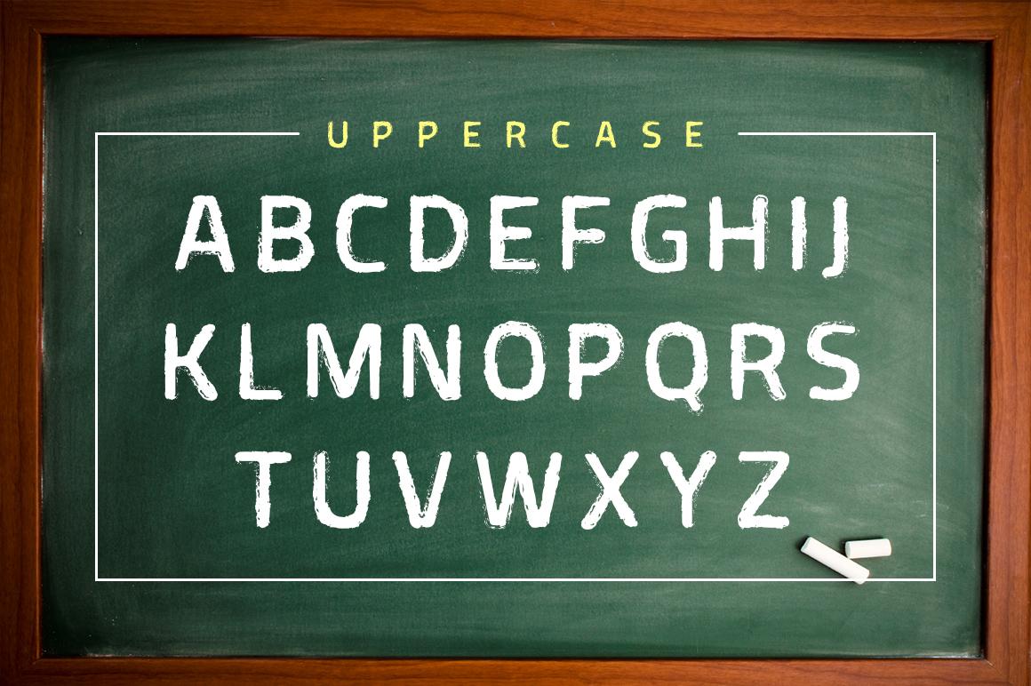 Greepel Grunge Font example image 3