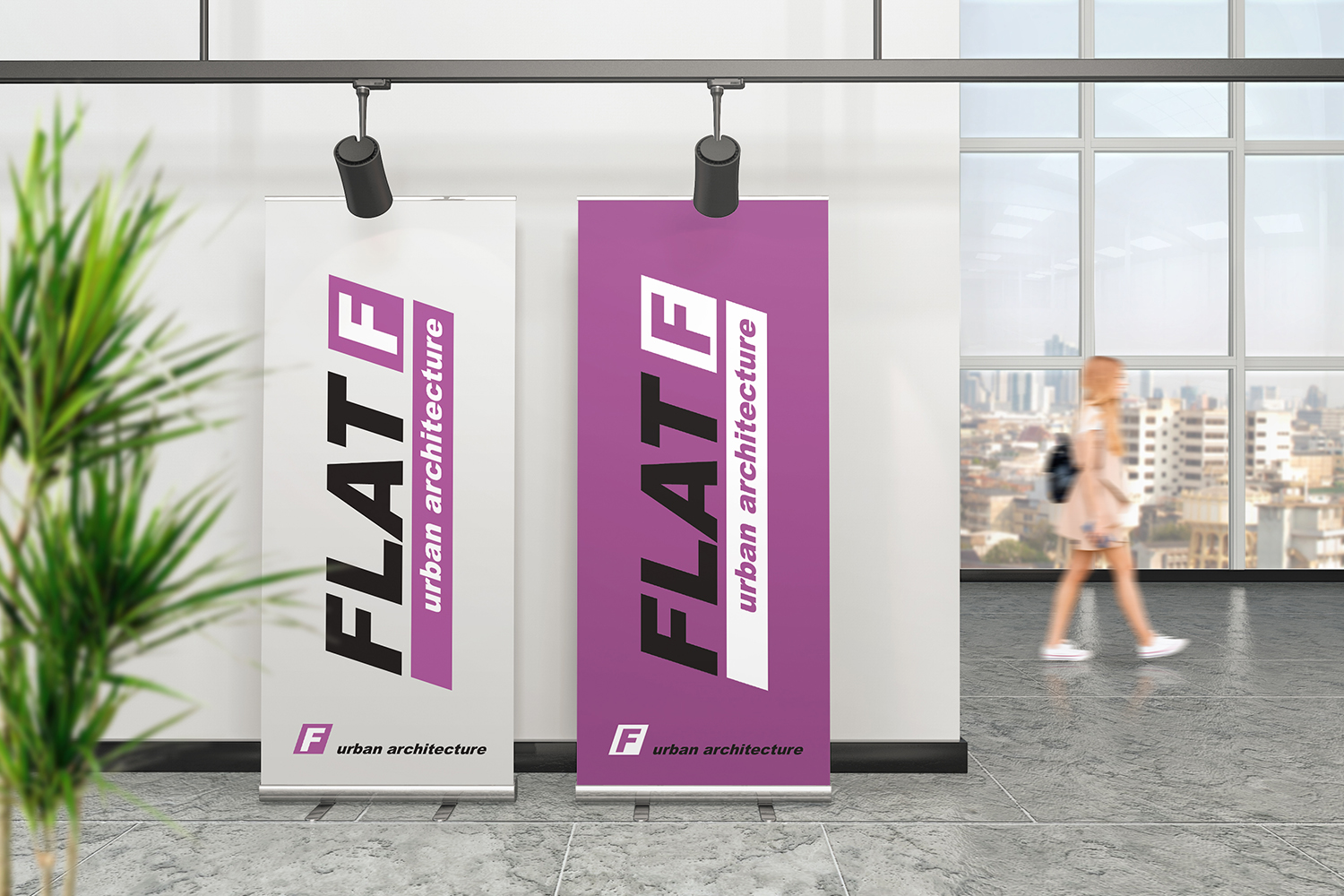 Roll Up Banner Mockups example image 5