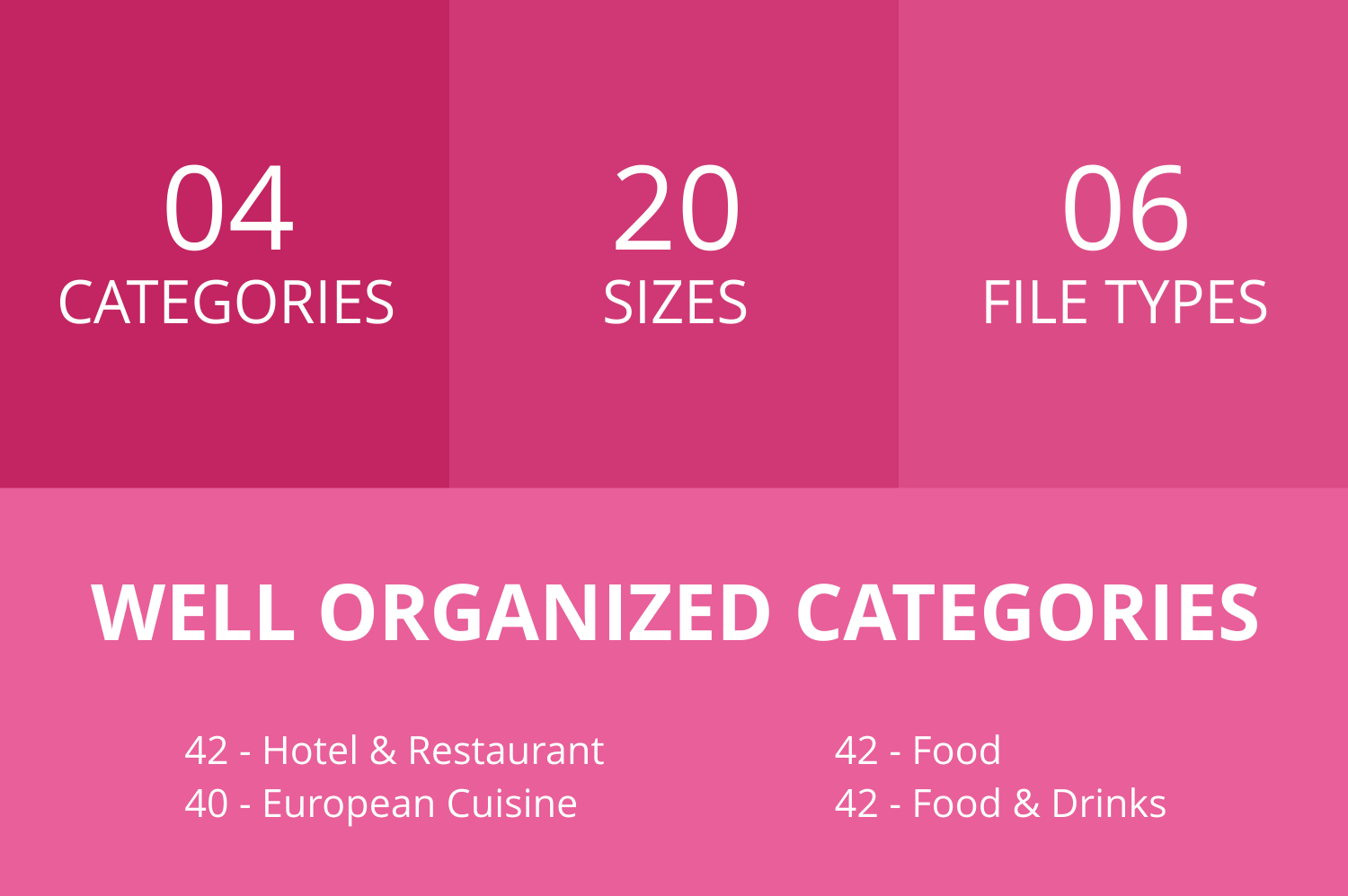 166 Restaurant & Food Glyph Icons example image 3