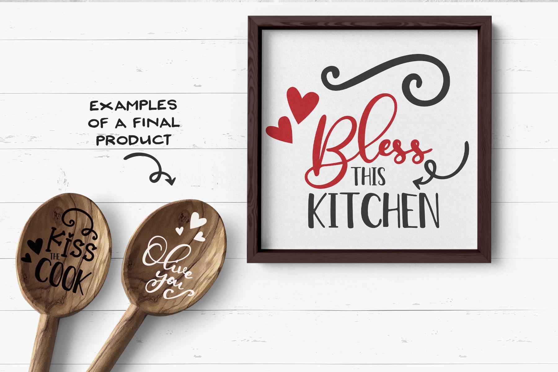 Kitchen SVG Bundle | Funny Kitchen Sign Builder example image 3